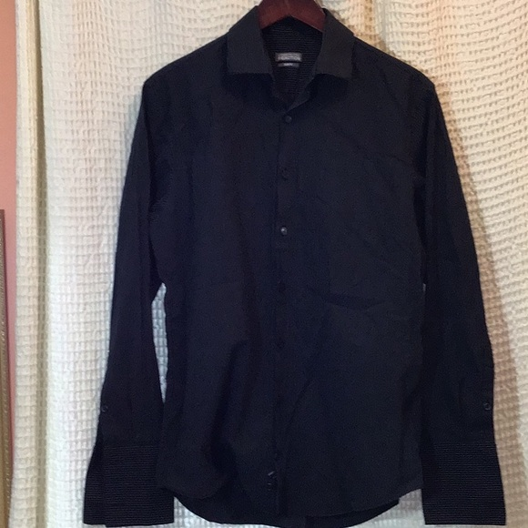 Kenneth Cole slim fit dress button down shirt
